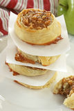 Apple Pecan Pastries Stock Photos