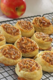 Apple Pecan Pastries Stock Photo