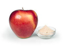 Apple and pectin powder Stock Photo
