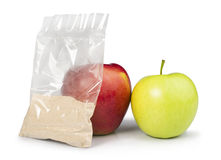 Apple and pectin powder Stock Photography