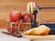Apple peeler Royalty Free Stock Photography