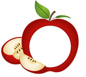 Apple Photo Frame Stock Photos