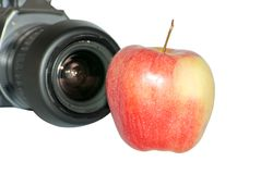 Apple photography Royalty Free Stock Photography