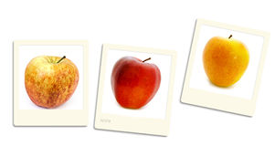 Apple photos Royalty Free Stock Images