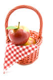 Apple picnic Royalty Free Stock Image