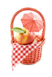 Apple picnic Royalty Free Stock Photos