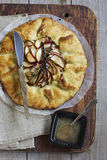 Apple Pie. Homemade French Apple Galette Stock Photos