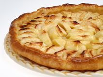 Apple pie. Appetizing apple tart in studio Stock Photography