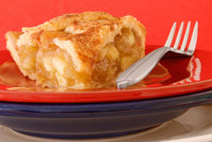 Apple pie. Served on stacked plates Royalty Free Stock Images