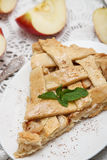 Apple pie Royaltyfri Fotografi
