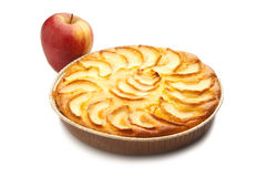 Apple pie with  apple Royalty Free Stock Photos