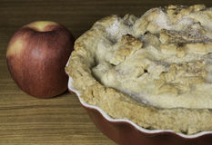 Apple Pie and Apple Stock Images