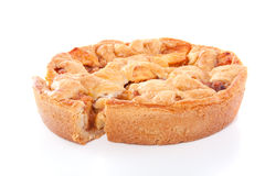 Apple-pie caseiro Imagem de Stock