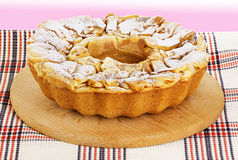 Apple pie, charlotte. Stock Photography