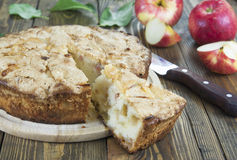 Apple pie. charlotte Stock Image