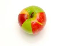 Apple pie chart Stock Photography