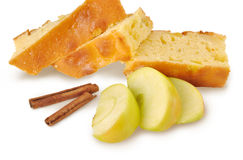 Apple-pie with cinnamon Royalty Free Stock Photos