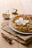 Apple pie with cinnamon Stock Photo