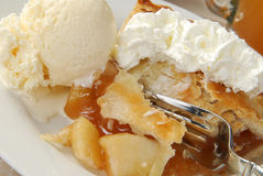 Apple Pie Close Up Royalty Free Stock Images