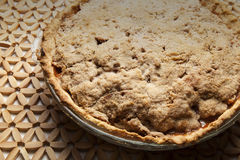 Apple Pie close up Stock Photo