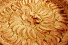 Apple Pie - closeup Stock Photo