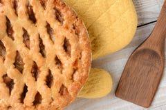 Apple Pie Closeup royalty free stock image
