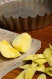 Apple pie crumble Stock Photography
