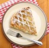 Apple Pie Dessert from Above Stock Photo