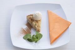 Apple pie dessert Royalty Free Stock Photos
