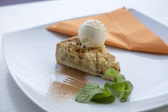 Apple pie dessert Stock Photo