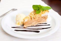 Apple Pie Dessert Stock Image