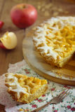 Apple pie. Dough for cookies Royalty Free Stock Images