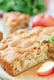 Apple pie and fresh fruit Royalty Free Stock Image