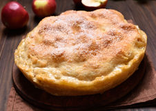 Apple pie and fresh fruits Royalty Free Stock Photos