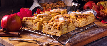 Apple pie. A fresh and tasty Apple pie Royalty Free Stock Photography