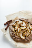 Apple galette Royalty Free Stock Photo