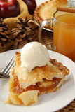 Apple pie holiday dessert Royalty Free Stock Image