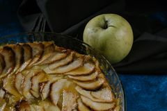 Good apple pie royalty free stock photos