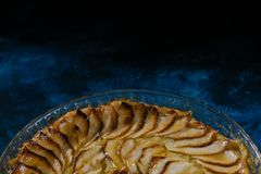 Good apple pie stock images