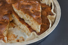 Apple Pie. Hot from the oven royalty free stock photography