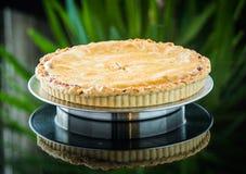 Apple pie and ice cream Royalty Free Stock Image
