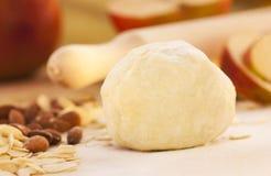 Apple pie ingredients. stock images