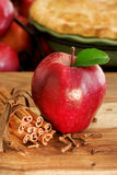 Apple pie ingredients Royalty Free Stock Image