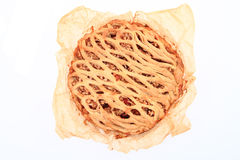 apple pie isolated Royalty Free Stock Photography