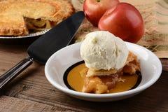 Apple Pie a la Mode Stock Image