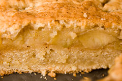 Apple pie layers Stock Photo