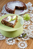 Apple pie med kanel Royaltyfri Foto