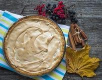 Apple pie with meringue Stock Images