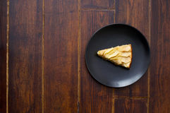 Apple pie on the plate Stock Photo