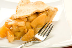 Apple Pie Slice Stock Image